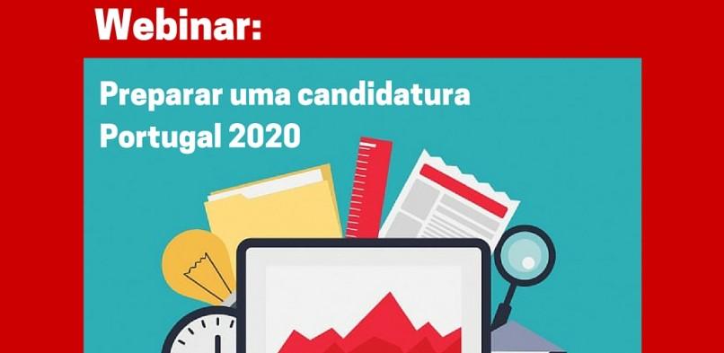 Webinar: Preparar uma candidatura Portugal 2020