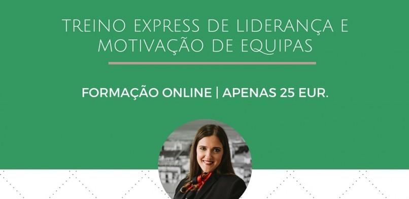 Treino Express de Liderança e Motivação de Equipas – Formação Online